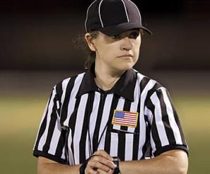 Catherine Conti diventa la prima donna ad arbitrare in Pac-12