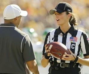 La prima donna arbitro della MAC sogna un posto da Referee, ma nella NFL.